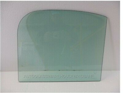 HOLDEN FJ FX - 1953 to 1956 - UTE - RIGHT SIDE FRONT DOOR GLASS - GREEN - NEW