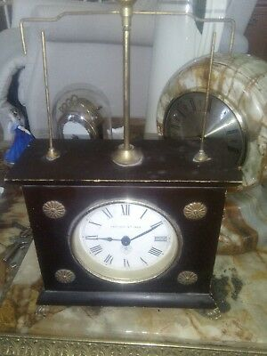 "Vintage German Jerome & Co ""The Horolovar Flying Pendulum"" Mystery Mantle Clock"