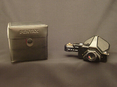 Pentax 67 Lens Case and Prism (for parts)