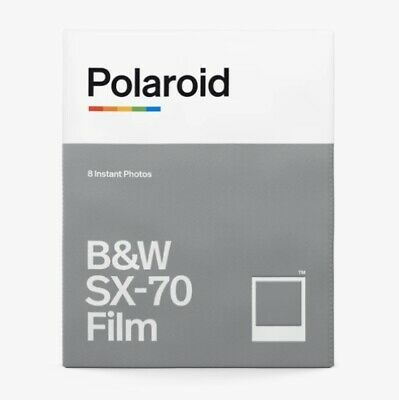 Polaroid ORIGINALS (Impossible Project) B&W Black White Instant Film SX-70 SX70