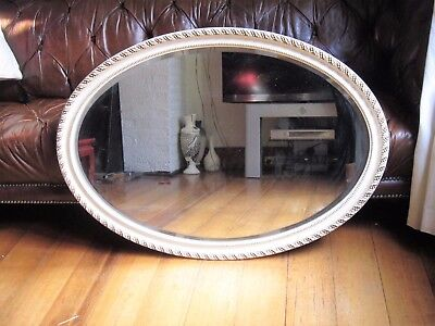 French Style Painted Wall Hanging Mirror