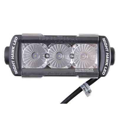 "Bushranger NIGHT HAWK LED LIGHT BAR NHS055F 5.5"" 7W Flood Beam, 810 Lumens"