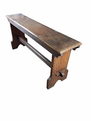 English Oak Bench