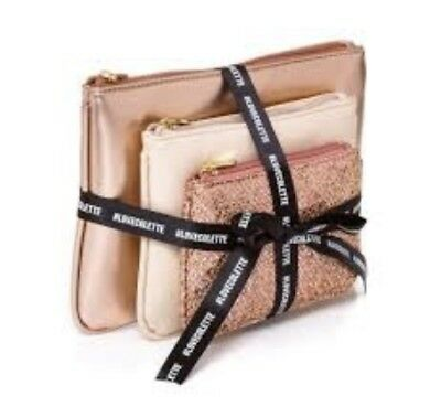 BNWT Ladies Purse Gift / Clutch Set from Colette - Rose Gold / Pink Tones
