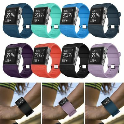 Silicone Wristband Watch Band Replacement Strap + Tools For Fitbit Surge Tracker