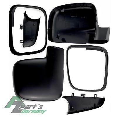 2x VW T5 Caddy 3 Exterior Mirror Wing Cover Housing Left+Right LEFT HAND DRIVE