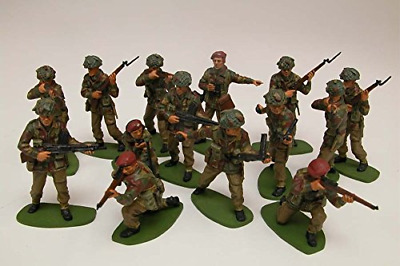 BEST Airfix WWII British Paratroops 1:32 Scale Series 2 Plastic Painting Figures