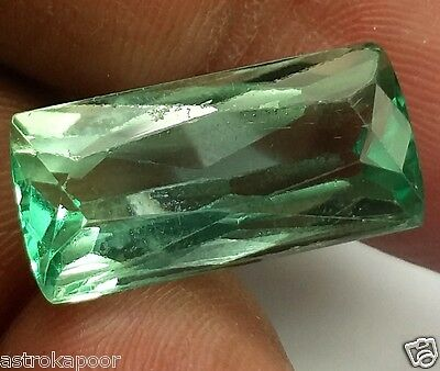 11.79 CT Green Kunzite 100% Natural GIE Certified Top Quality Superb Gemstone