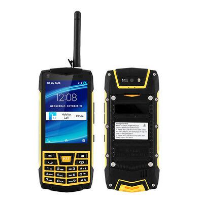 Rugged Android Waterproof Smartphone NFC Quad Core Walkie Talkie N2 Phone+32GB