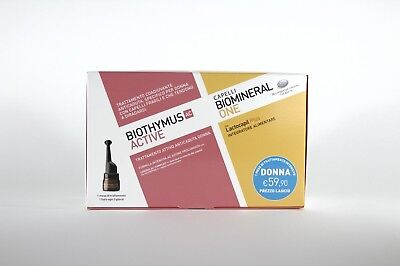 BIOTHYMUS AC ACTIVE DONNA 10 FIALE anticaduta + BIOMINERAL ONE 30compresse