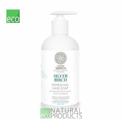 Natura Siberica Copenhagen Natural Hand Soap Silver Birch 500ml