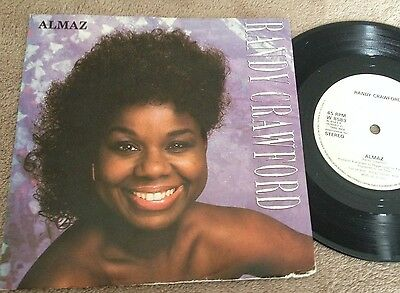 "7"" Randy Crawford Almaz  1986."