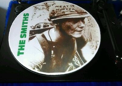 "THE SMITHS meat is murder slipmat patinador turntable mat 12"" LP Improve vegan"