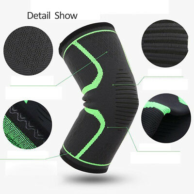 S/M/L Elastic Knee Support Strap Protect Gear Sport Running Injury Sprain Pads