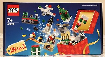LEGO Christmas Build-Up (40222) Brand New In Box