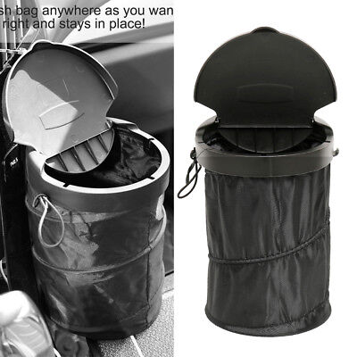 Portable Collapsible Trash Can Pop-up Leak Proof Travel Trash bin box