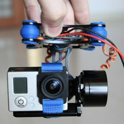 [NEW] FPV 2 Axis Brushless Gimbal With Controller For DJI Phantom GoPro 3