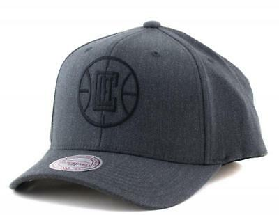 Los Angeles Clippers Cap - Mitchell & Ness NBA LA Hat Mitchell And Ness Charcoal