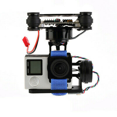 [NEW] FPV 3 Axis CNC Metal Brushless Gimbal With Controller For DJI Phantom GoPr