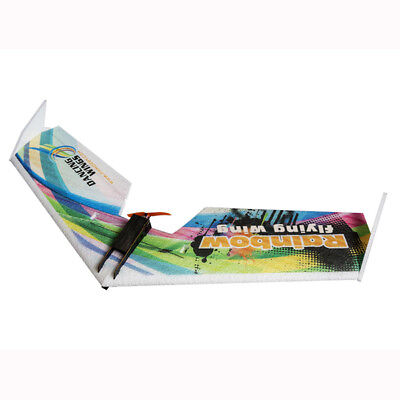 [NEW] 1PCS Only DW HOBBY Rainbow V2 Version 800mm Wingspan EPP Flying Wing FPV R