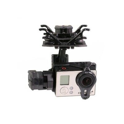 [NEW] Tarot T4-3D Dual Shock Absorber 3 Axis Gimbal PTZ for Gopro Hero4 3+ 3 FPV