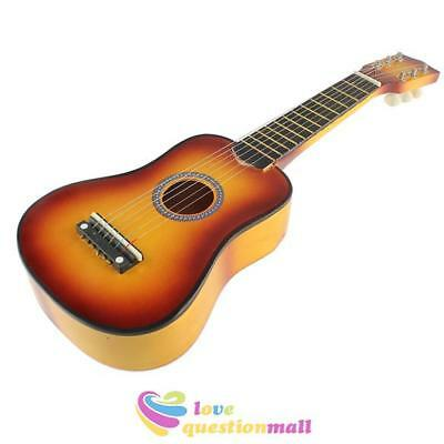 21'' Acoustic Classic Guitar Mini Instrument Kids Children Adult Gift 6 Strings