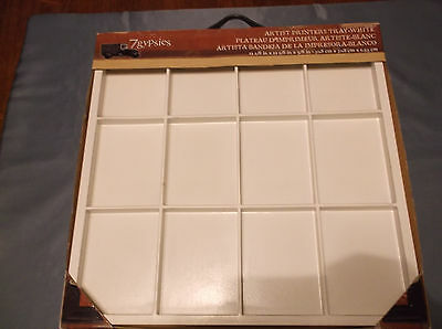 "PrintersTray Shadow Box for collectibles/Art/Craft Project 12""x12""x5/8"" White"