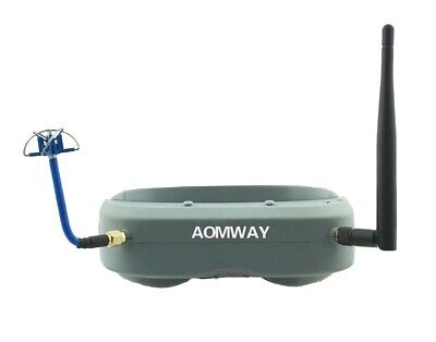 [NEW] Aomway Commander Goggles V1 2D 3D 40CH 5.8G FPV Video Headset Support HDMI