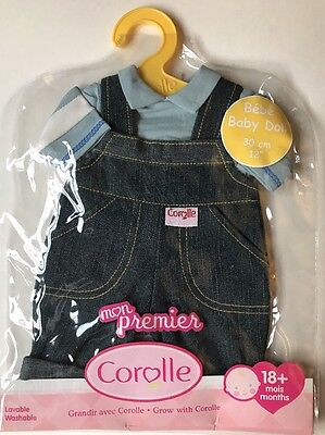 """New Corolle Mon Premier Baby Doll Clothes Boy Girl Calin Tidoo  Outfit Set 12"""""""