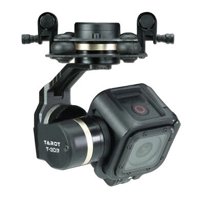 [NEW] Tarot TL3T02 T-3D IV 3 Axis Brushless Gimbal for Gopro Hero 4 SESSION Came