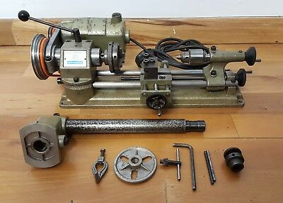 Unimat Lathe SL Elliot small mini micro watchmaker model lathe