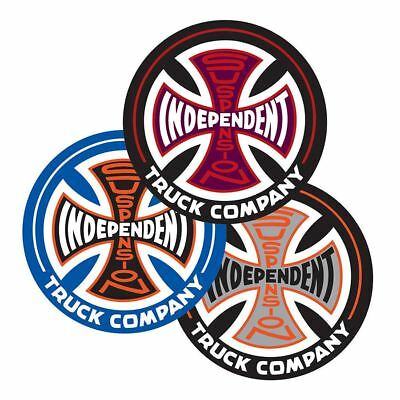 Independent Trucks Suspension Sketch Sticker - Various Colours - 9cm / 3.5""