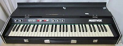 Multivox MX-20 Solid State Electronic Combo Piano - Works Great!