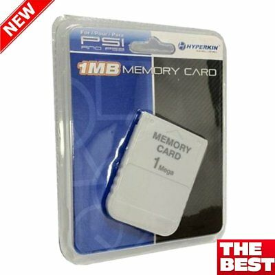 1 MB Memory Card For Playstation 1 PS1 PSX Game (factory sealed)Brand N   EW