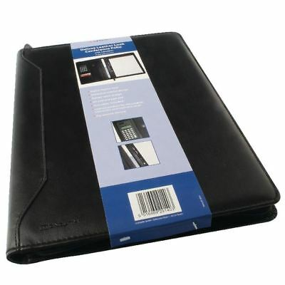 Monolith Conference Folder With A4 Pad and Calculator Black 2914 [HM29140]