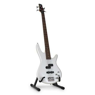 Acoustic Electric Bass Guitar Stand Adjustable 3-Way Width Universal Holder