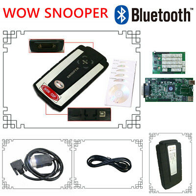 WOW Snooper V5.008 R2 Software Diagnostic for Cars and Trucks - BLUETOOTH