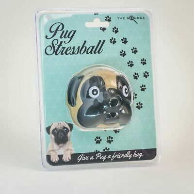 Pug Stress Ball - Cute Dog Stress Relief Squeeze Squish Calming Effect Toy