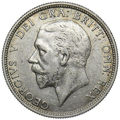 1932 Florin - George V British Silver Coin - Nice