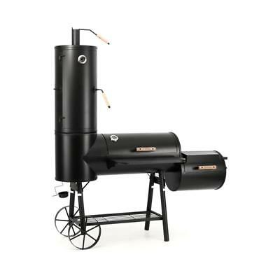 Klarstein Outdoor Bbq Smoker Grill Combo Home Garden Summer Party