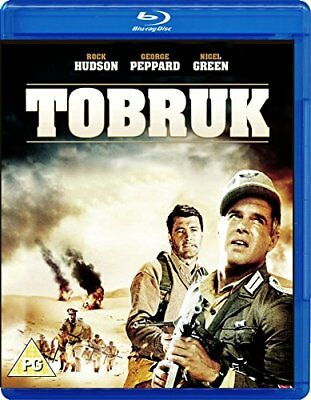 Tobruk (1967) Rock Hudson IMPORT Blu-Ray NEW Free Ship USA Compatible