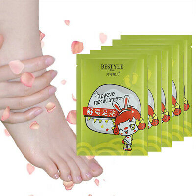 Bamboo Vinegar Powder Foot Care Feet Paste Relax Foot Mask Effective Keep Health