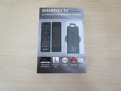 smartkey TV android HDMI Wi.Fi. Internet TV Chiavetta USB Smart Key