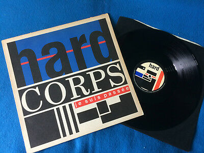 """Hard Corps - Je Suis Passee 12"""" UK 1985  VG+/EX+  Synth pop"""