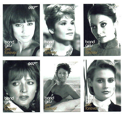 James Bond In Motion Complete Bond Girls Are Forever Chase 24 Card Set BG49-72