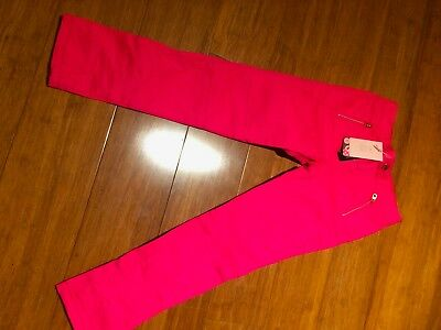 Girl's pink Ted Baker trousers size 8 yrs