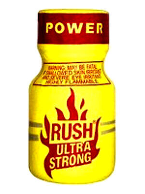 RUSH ULTRA strong POPPER INCENSO rave party gay liquid