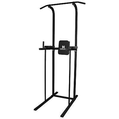 Sale Hardcastle Gym Power Tower Dip Station Pull/chin Up Bar Damaged Packet #890