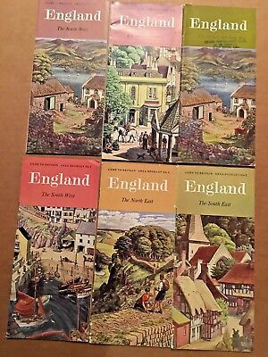 Lot of 6 Vintage England Travel Brochures (#4)