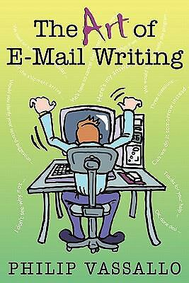 NEW The Art of Email Writing by Philip Vassallo Paperback Book (English) Free Sh